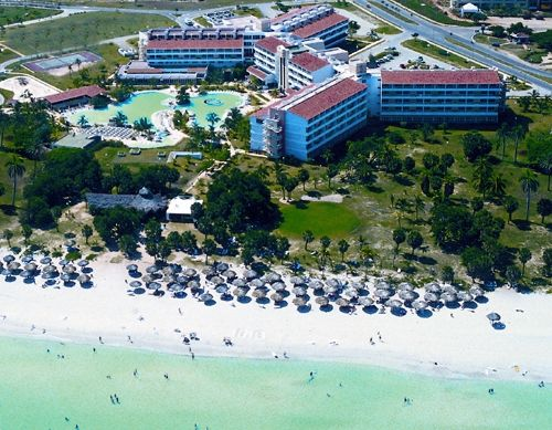'Hotel Arenas Blancas - aerial view' Check our website Cuba Travel Hotels .com often for updates.