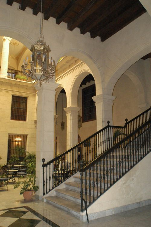 'Hotel Palacio O'farril inside stairs' Check our website Cuba Travel Hotels .com often for updates.