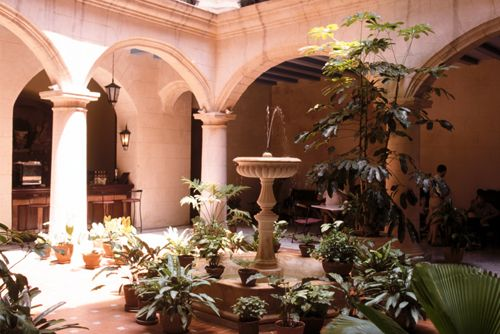 'Hotel Santa Isabel patio' Check our website Cuba Travel Hotels .com often for updates.