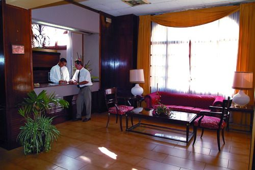 'Hotel Victoria - reception' Check our website Cuba Travel Hotels .com often for updates.