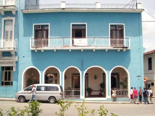 'Hostal - Plaza - facade of the hotel in Sancti Spiritus province' Check our website Cuba Travel Hotels .com often for updates.