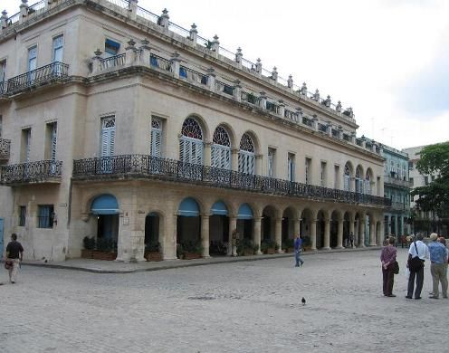 'Hotel Santa Isabel facade' Check our website Cuba Travel Hotels .com often for updates.