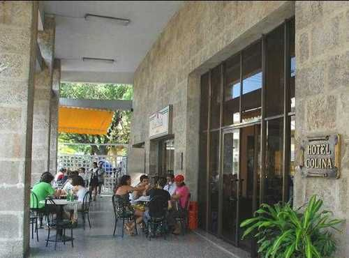 'Hotel - Colina - main entrance' Check our website Cuba Travel Hotels .com often for updates.