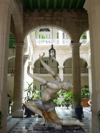 'hotel florida entrance dancer statue' Check our website Cuba Travel Hotels .com often for updates.