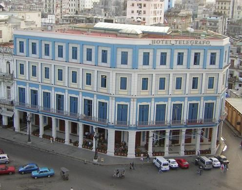 'Hotel Telegrafo view fron hotel parque central' Check our website Cuba Travel Hotels .com often for updates.
