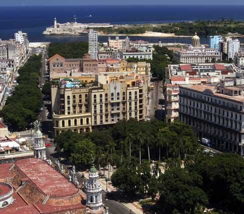 'Hotel - NH Parque Central - aerial' Check our website Cuba Travel Hotels .com often for updates.