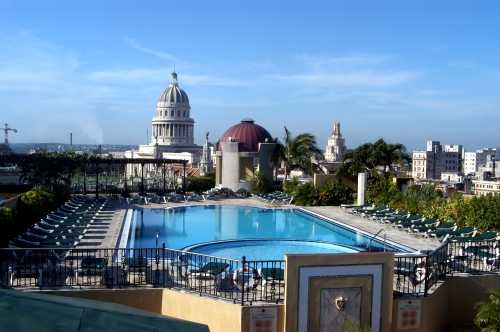 'Hotel - NH Parque Central - view of the pool' Check our website Cuba Travel Hotels .com often for updates.