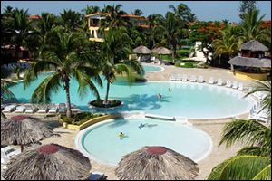 'Varadero beach - Villa Tortuga - pool aerial' Check our website Cuba Travel Hotels .com often for updates.