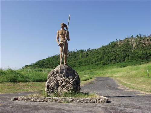 'Campismo - villa guajimico - estatua de guajimico' Check our website Cuba Travel Hotels .com often for updates.
